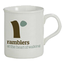 Mug with Ramblers logo